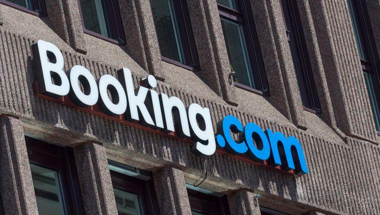 Het hoofdkantoor van Booking.com in Amsterdam.