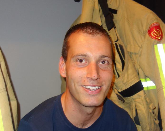 Brandweerman Wilco Hogenbirk
