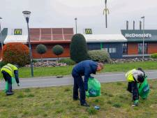 Landelijke Opschoondag: McDonald's ruimt (eigen) troep op
