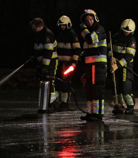 Schoonspuitbeurt voor Veghelse brandweer