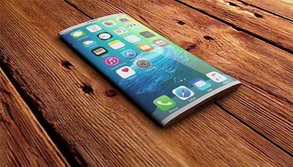 Zo zou de iPhone X eruitzien.