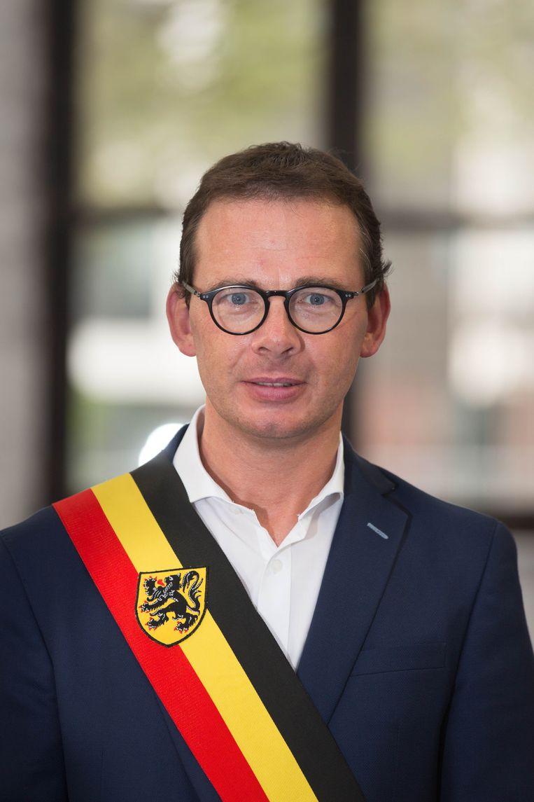 Burgemeesters Wouter Beke.