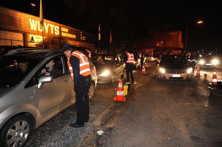 De politie zal de komende maanden geregeld alcoholcontroles uitvoeren op de Leuvense wegen.