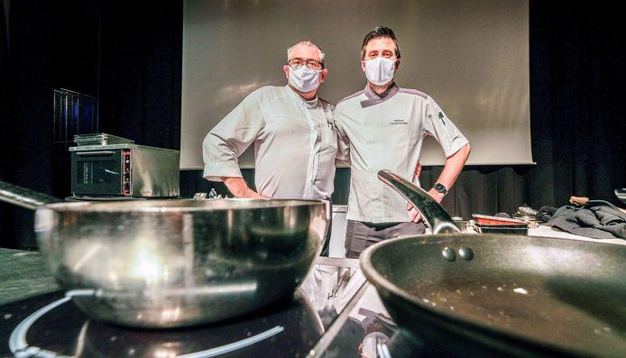 Franky en Michael Vanderhaeghe zijn zeer blij met het behoud van hun 2 sterren.