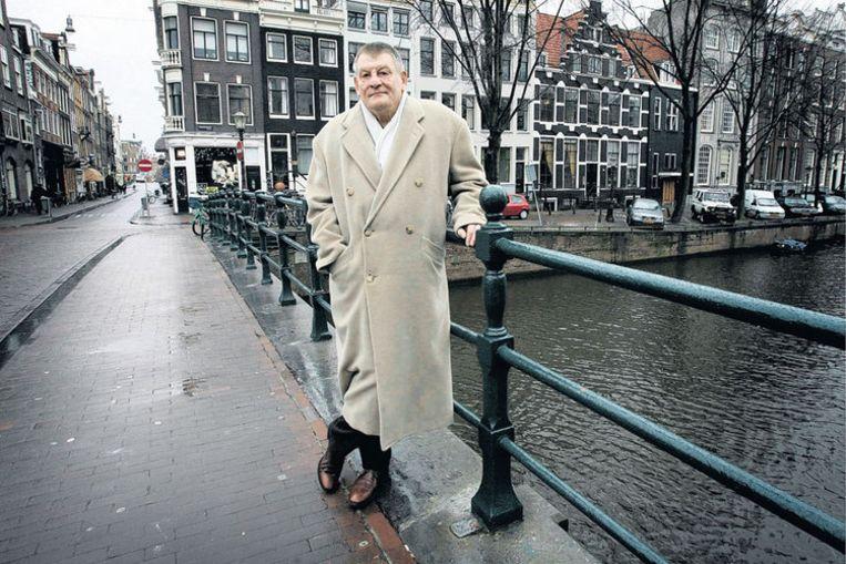 J. Bernlef...een felle aanklacht in de geest van een schrijver als George Orwell wordt De rode droom nooit...Foto GPD/Frouwkje Bijlstra Beeld