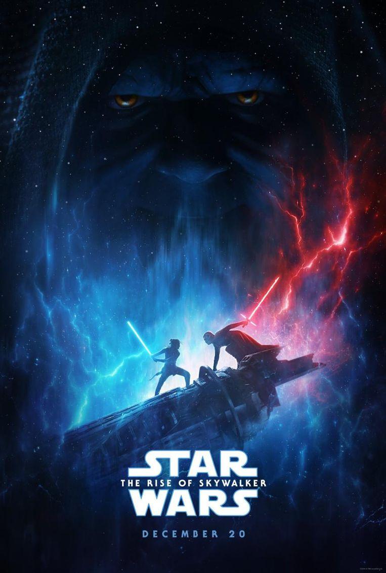 De poster van 'Star Wars: The Rise of Skywalker' Beeld Lucasfilm/Disney