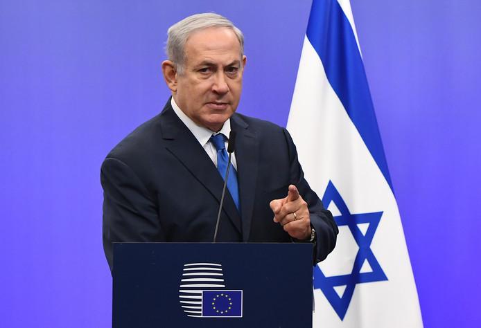 De Israëlische premier Netanyahu: 'Vrede begint met de erkenning van de realiteit'.
