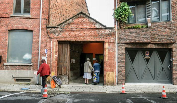 Voedselbank in Kortrijk.