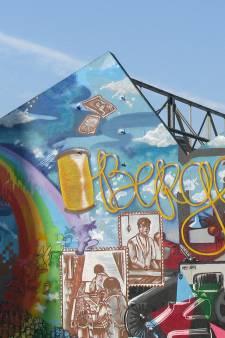 Graffitiwand bij sheddaken verdwijnt over twee weken