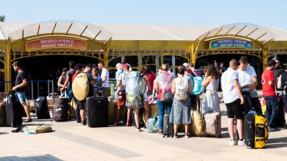 Bagage inchecken kan al op camping dankzij Brussels Airlines