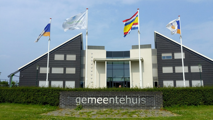 Het gemeentehuis van Tholen.