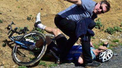 Drama tijdens eerste Roubaix