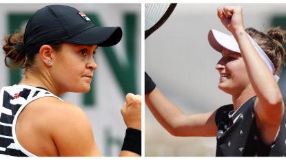 Barty en Vondrousova spelen vrouwenfinale