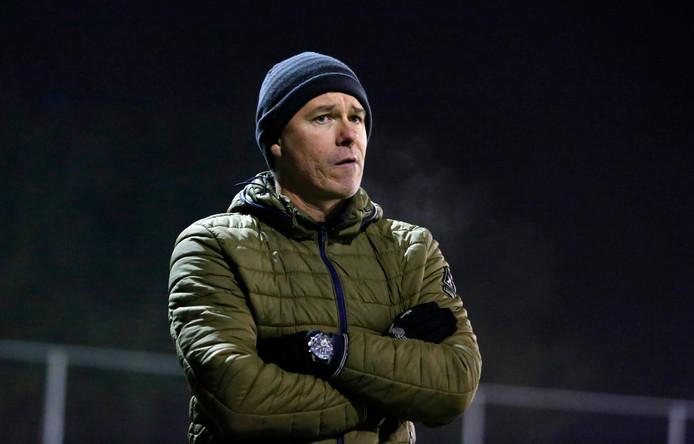 Hoek-trainer Jannes Tant.