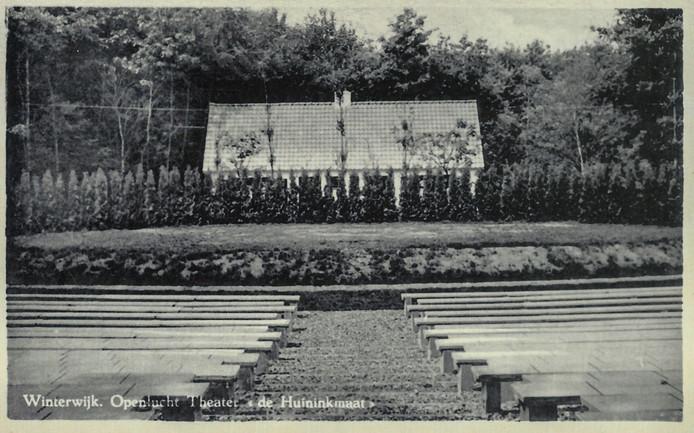 Openluchttheater Winterswijk in de jaren vijftig