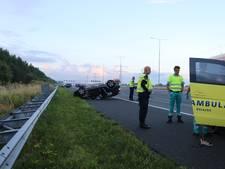Ravage op A2 na ongeval met drie auto's