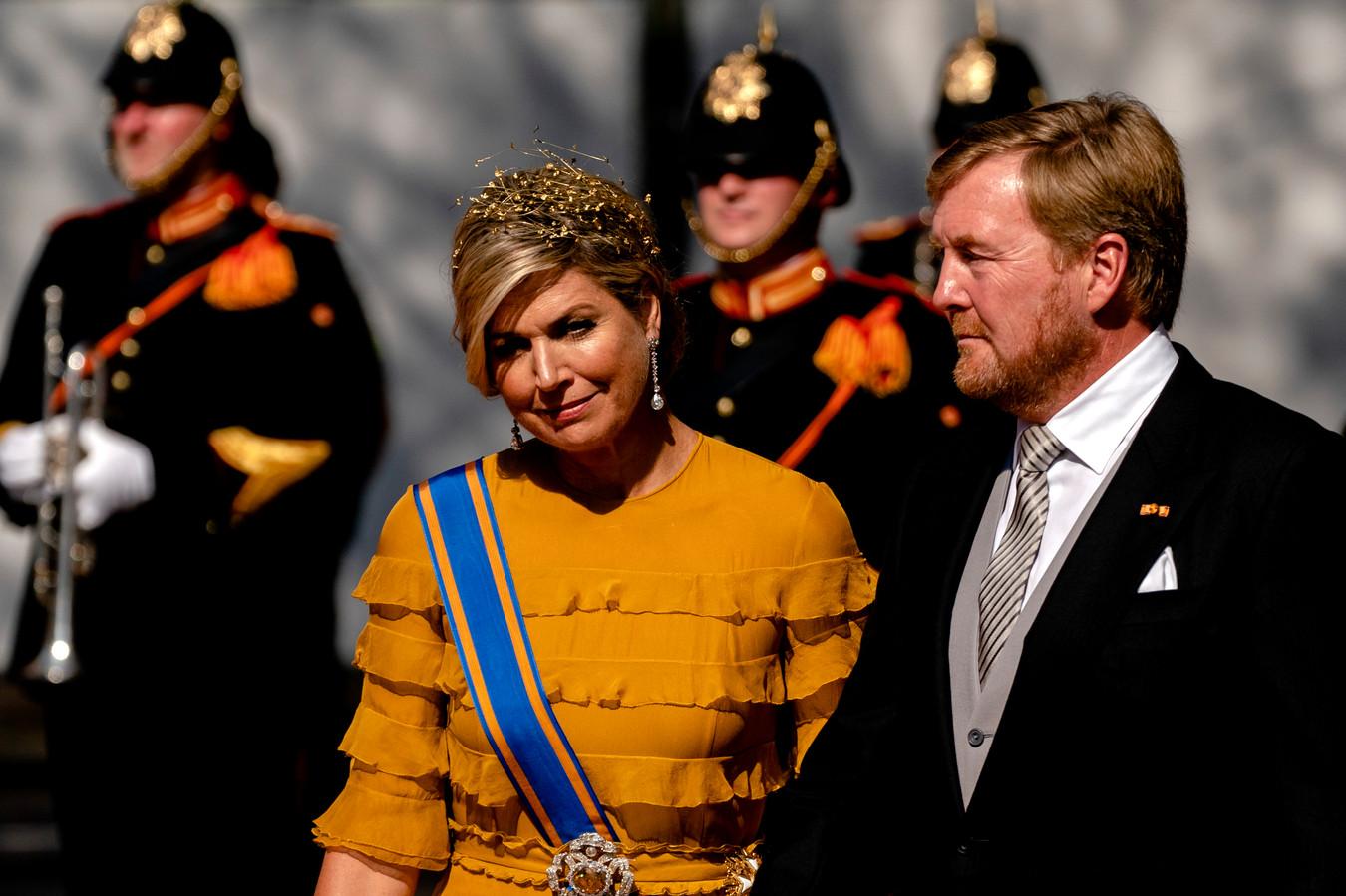 Willem-Alexander en koningin Máxima