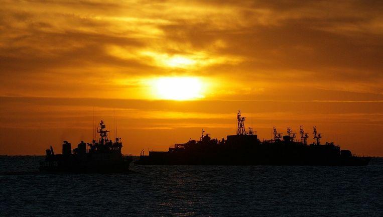 De Zuid-Koreaanse marine versterkt zijn aanwezigheid na de aanval van Noord-Korea op het eiland Yeonpyeong. Beeld