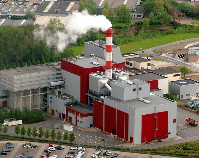 De ISVAG-verbrandingsoven in Wilrijk.