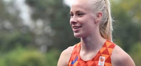 Marije, het gezicht van het NK indoor, wil het beste van zichzelf laten zien in Apeldoorn