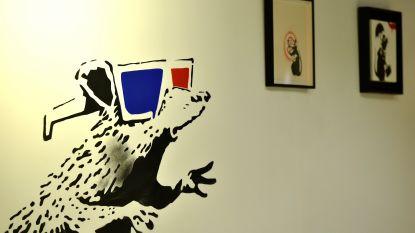 Banksy-expo Brussel was te mooi om waar te zijn