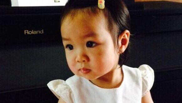 De tweejarige Matheryn Naovaratpong.