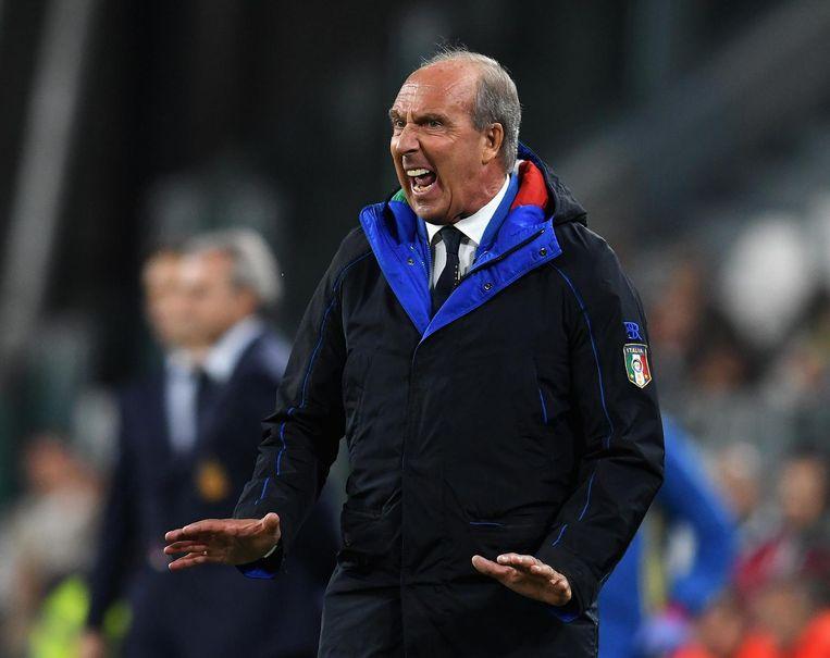 De Italiaanse bondscoach Ventura. Beeld getty