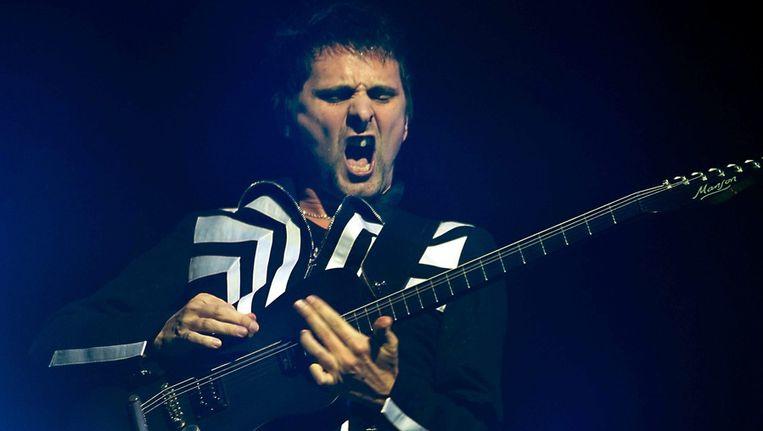 Muse-voorman Matt Bellamy. Beeld epa