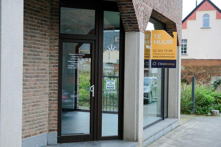 In dit pand langs de Brusselsesteenweg had skatewinkel BlackJack iets minder dan een jaar onderdak.