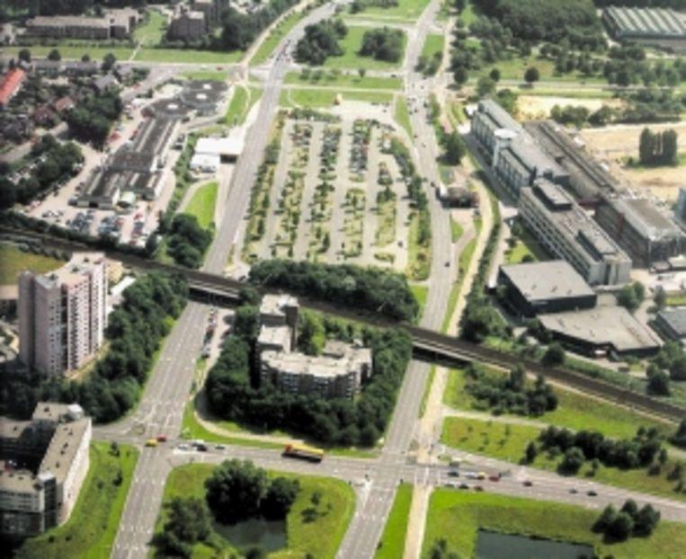 Nijmegen, knoop Goffert. (Trouw) Beeld