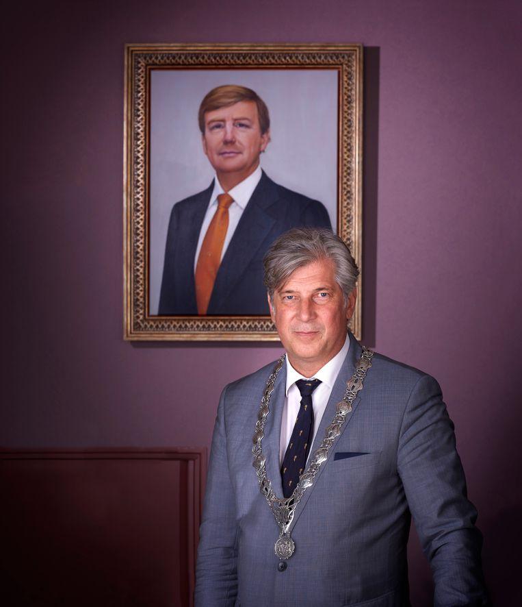 Burgemeester Peter Oskam van Capelle aan den IJssel. Beeld Mark Kohn