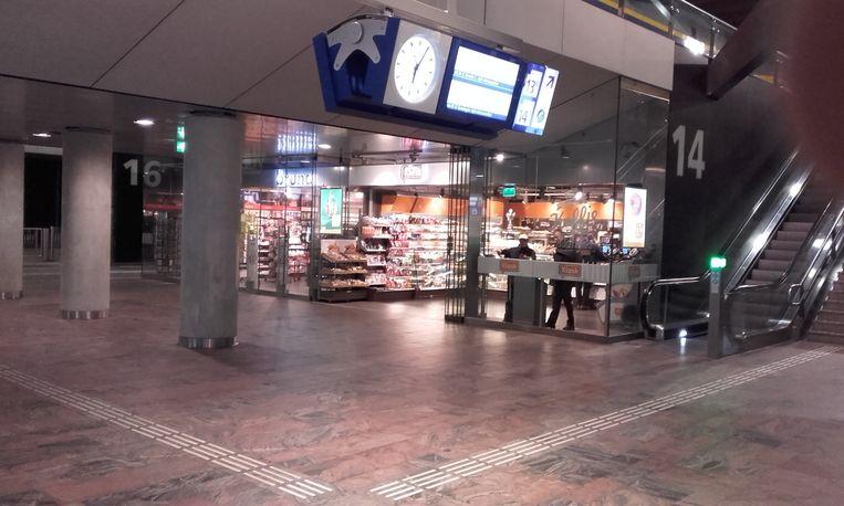 Een leeg station. Beeld Willem Pekelder
