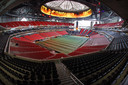 Het indrukwekkende Mercedes-Benz Stadium van Atlanta United.