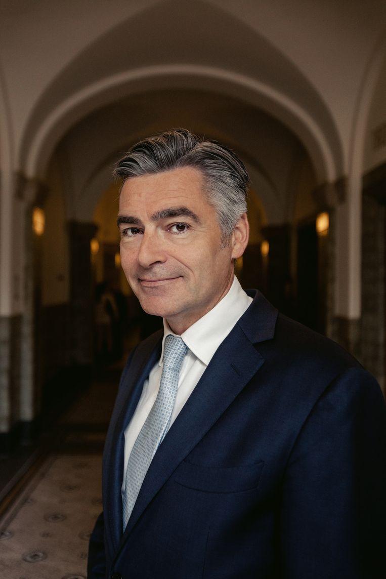 Adriaan Visser, wethouder van Cultuur in Rotterdam. Beeld Marc Nolte