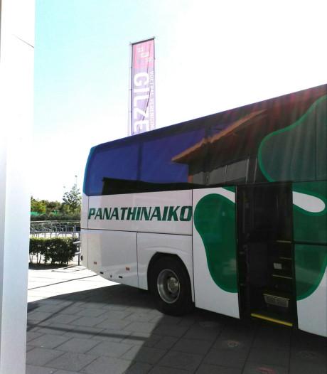 Griekse topclub Panathinaikos traint op sportpark Gilze