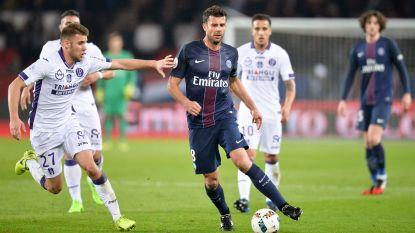 PSG, zonder Meunier, komt niet tot scoren tegen Toulouse