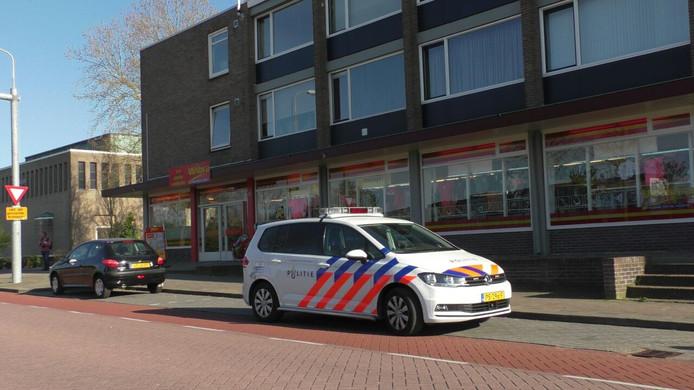 De Wibra aan de Gerard Doustraat in Zutphen werd overvallen.