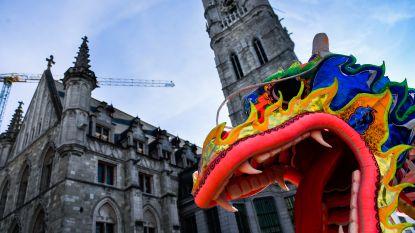 Gentenaars trotseren winterkou voor Chinese nieuwjaarsparade