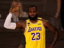 LeBron James laat zich meteen gelden met winnende schot bij Lakers tegen Clippers