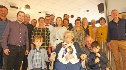 Yvonne Geeurickx viert honderdste verjaardag met familie en vrienden