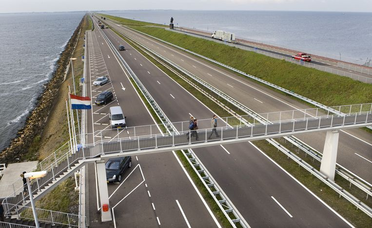 Afsluitdijk Beeld anp