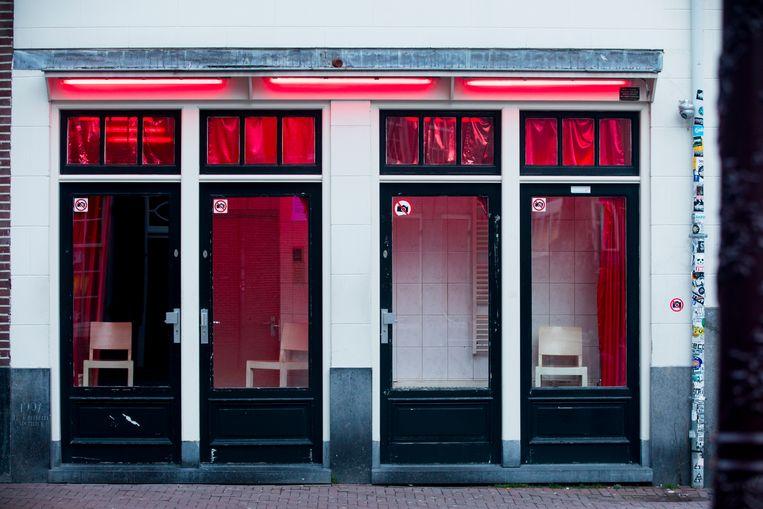 Raamprostitutie op de Amsterdamse wallen. Beeld Nederlandse Freelancers