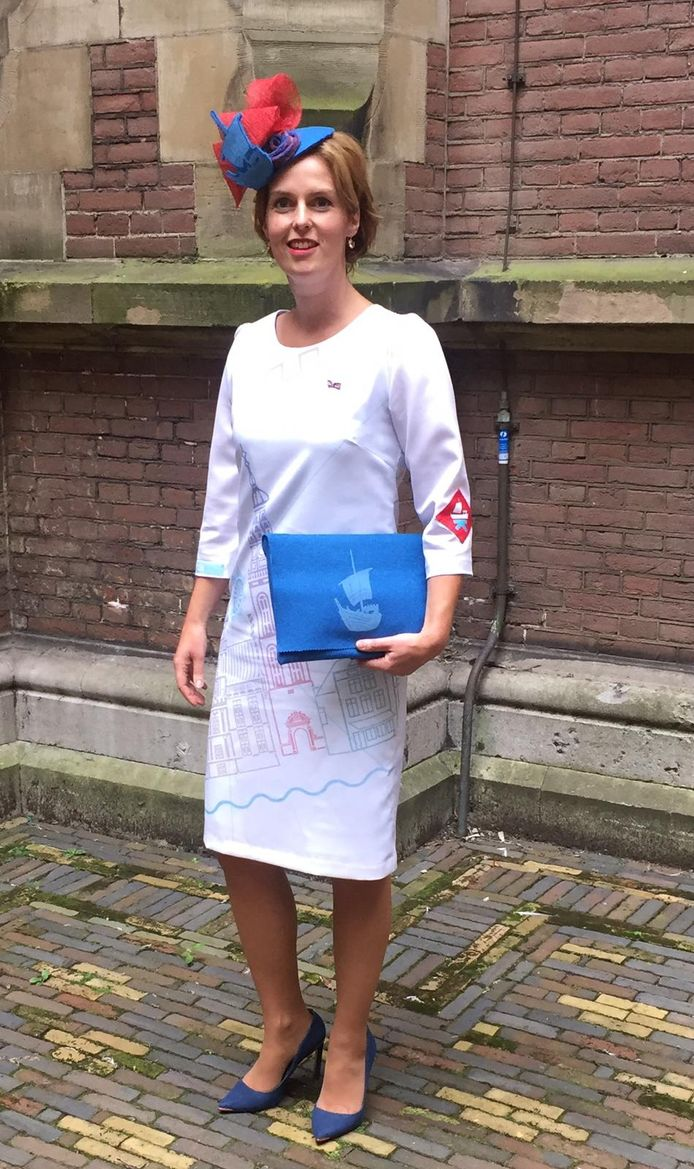 De Kamper outfit van Kamerlid Hilde Palland.