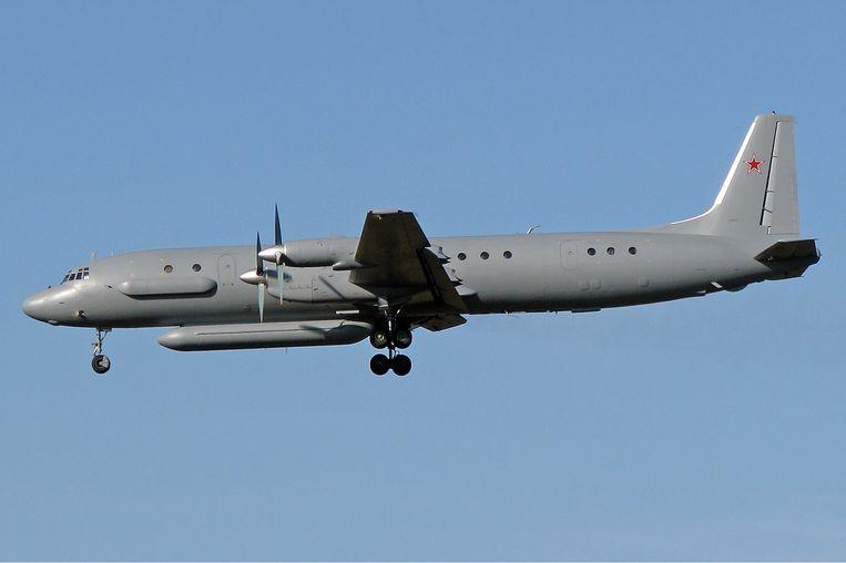 De Il-20 Coot werd in 2015, naar verluidt via Iran, naar de Russische luchtmachtbasis bij Latakia gestuurd. Beeld null