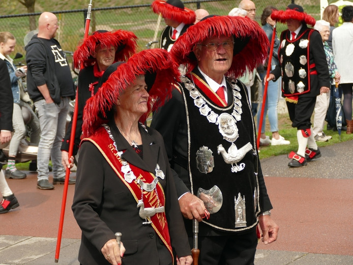 Gildefeest in Liessel (lezersfoto).
