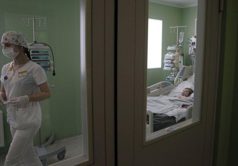 Archiefbeeld van de kinderafdeling van het kankerinstituut in Rostov aan de Don in Rusland. Beeld Valery Matytsin/TASS