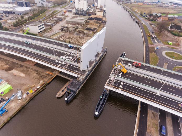 De Máximabrug, eind 2016 opgeleverd.