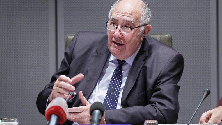 De burgemeester van Zaventem Francis Vermeiren.