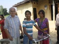 Twellonaar Palmen houdt actie voor gehandicapte Binita en Tank in Nepal