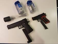 Jongen schiet met nepwapen op 8-jarige